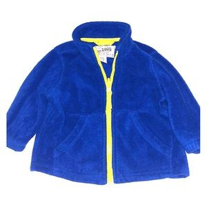 The Children's Place baby boy fleece zip up jacket